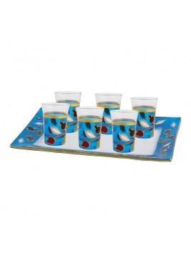 6 Mini Cup Grenade verre paint