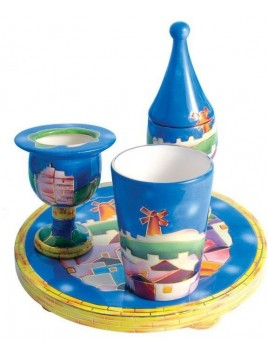 Set Havdalah complet Ceramic Design de Jerusalem