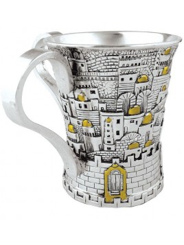 Keli de Netila Design de Jerusalem Plaque argent 925