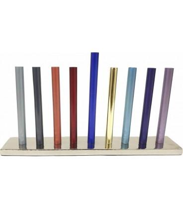 Hannoukia Baton design tube 16cm Multi color