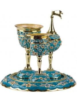 Set Havdalah complet Turquoise