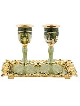 Chandeliers pour Shabbate Maron
