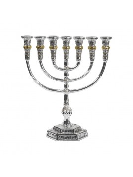 Menorah Temple Design 925 18cm