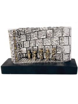 Cotel miniature 17cm plaque argent