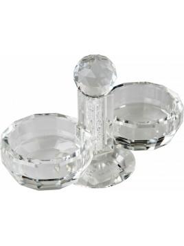 Poivre et sel en verre