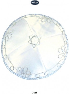 Kippa Satin Petit Maguen David