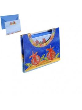 Set de 10 enveloppes 13cm theme Grenade