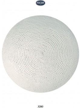 Kippa Cotton 16 cm blanc