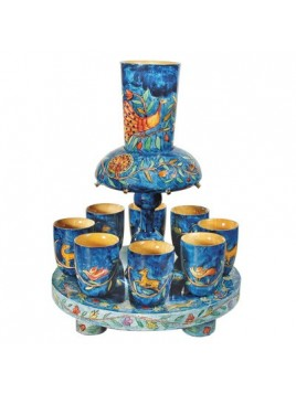 Fontaine a Kiddouch + 8 Petits verres Oriental