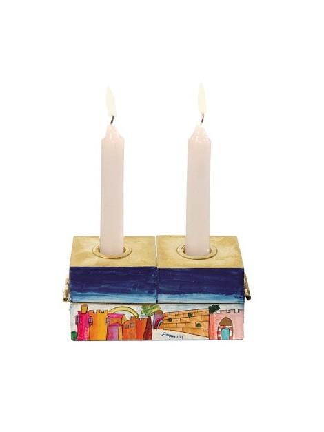 Hanukkah Menorah & Shabbat Candlesticks