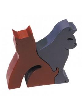 Puzzle en bois Petite taille Animaux