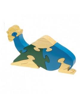 Puzzle en bois Grande taille Chameau assis