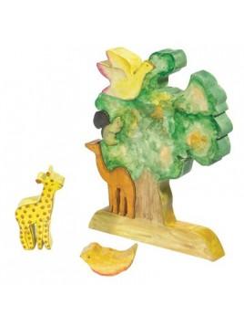 Puzzle en bois Grande taille Arbre