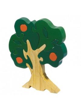 Puzzle en bois Grande taille Pommier