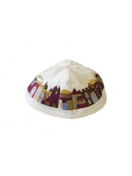 Kippah - Embroidered