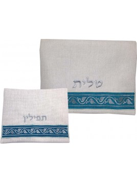 Tallit Tefilin Bags Linen