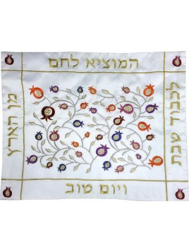 Challah Cover Colorful Pomegranate