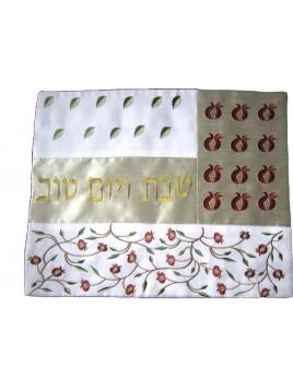 Challah Cover Pomegranate Applique