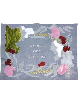 Challah Cover Pomegranate Colorful