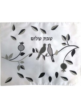 Challah Cover Dove w/Leaves