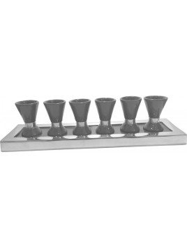 Wine Set Enamel Gray