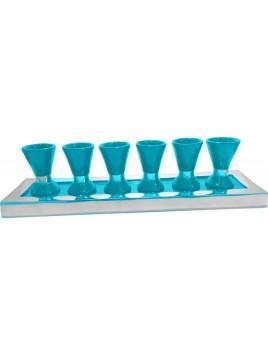 Wine Set Enamel Turquoise