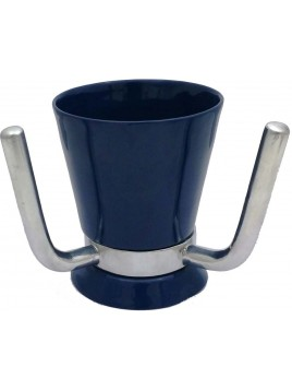 Wash Cup Enamel Navy Blue