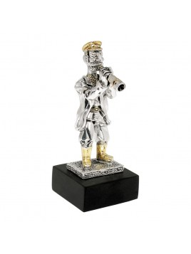 Trumpet player mini 925 Silver
