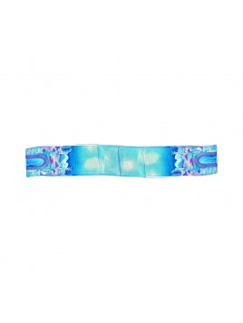 Scarf Silk Jerusalem design Blue