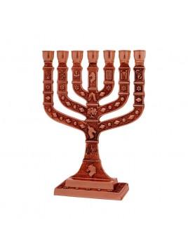Menorah Knesset 22 cm Cooper