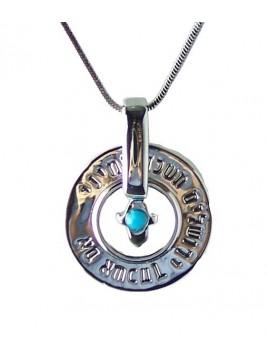 Collier pendentif Jerusalem et Hamsa