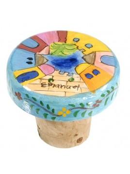 Bouchon décoratif la ville de Jérusalem