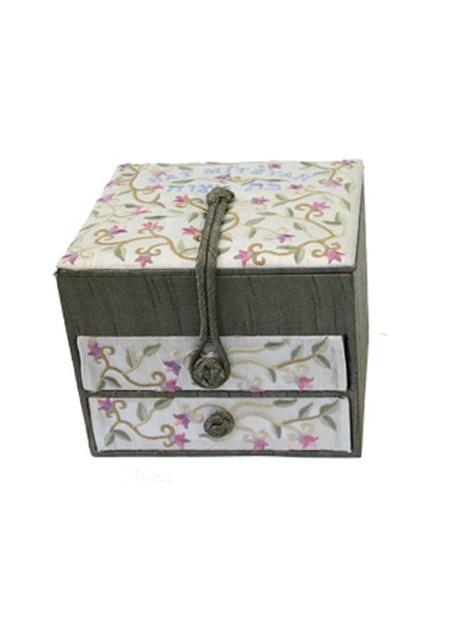 boîte à bijoux tiroirs Bat Mitzvah