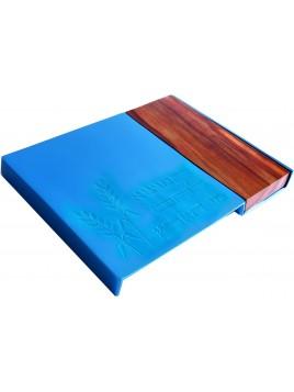 Plateau a pain turquoise