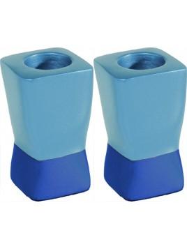 Chandeliers deux parties Bleu