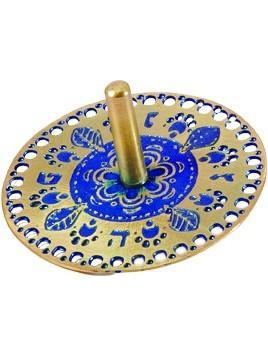 Toupie Gravée thème Oriental