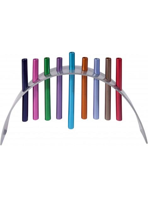 Hanoukiah design multicolore
