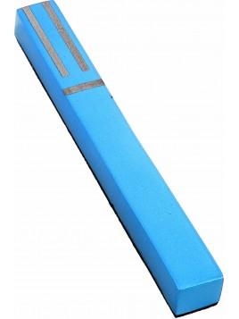 Boitier de Mezouza Shin Géométrique turquoise