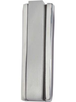 Boitier Mezouza 2 Morceaux 10cm Mat + Brillant