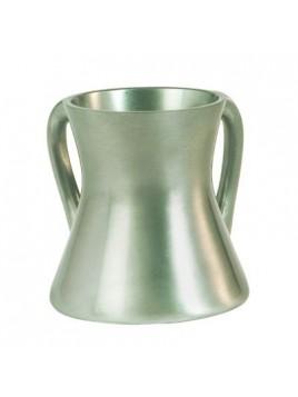 Keli de Netilat Yadayim en métal Aluminium brut Petit