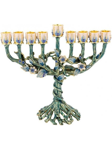 Chanoukia turquoise