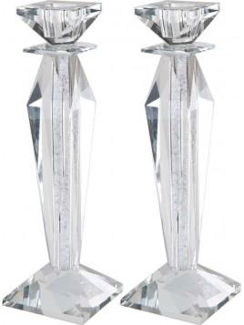 Chandelier de Chabbat en cristal 25 cm