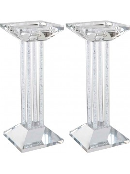 Chandelier de Chabbat en cristal 23 cm