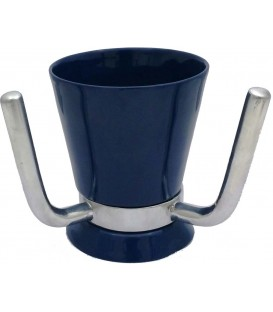 Wash Cup Enamel Navy Blue