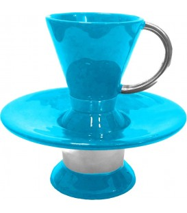 Wash Cup Enamel Turquoise