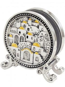 Porte serviette Jerusalem Plaque argent 925