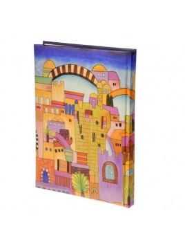 Cahier- couverture rigide 25cm Jerusalem