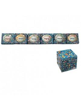 Foldable Seder Plate