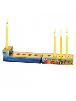 Travel Hanukkah Menorah