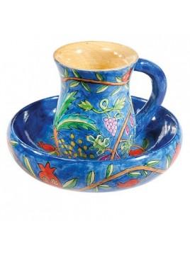 Mayim Achronim - Cup + Dish